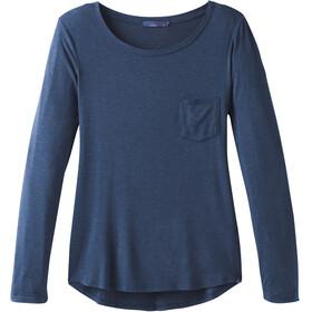 Prana Foundation Langærmet T-shirt Damer blå